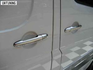 MERCEDES SPRINTER W 906  	04.06>	4724041	Chrome	Door Handle Cover 4 Doors S.Steel