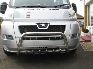 FIDU07FGBWM4 FIAT DUCATO 2006 + FRONT GRILL BAR MEDIUM & SIGN  �  60