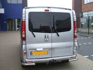 RENAULT TRAFIC 2006+ REAR CORNER BUMPER GUARDS SINGLE 60