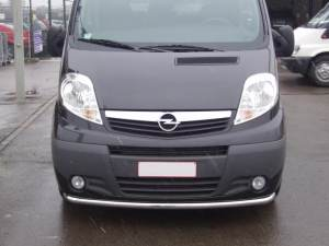 RENAULT TRAFIC 2006+ FRONT BUMPER GUARD SINGLE STRIGHT �60