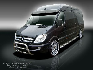 Mercedes Benz Sprinter W906 Styling Accessories