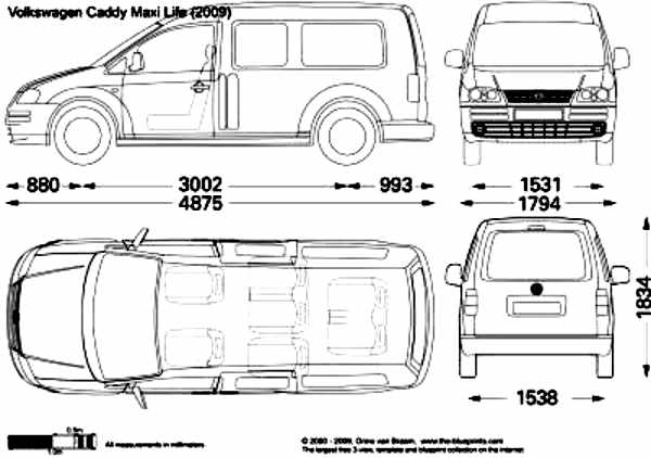 Volkswagen Caddy Maxi Life Accessories Vw Caddy Maxi Life