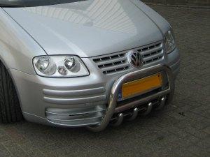 VOLKSWAGEN CADDY 2003+ FRONT GRILL BAR MEDIUM & TUBULAR